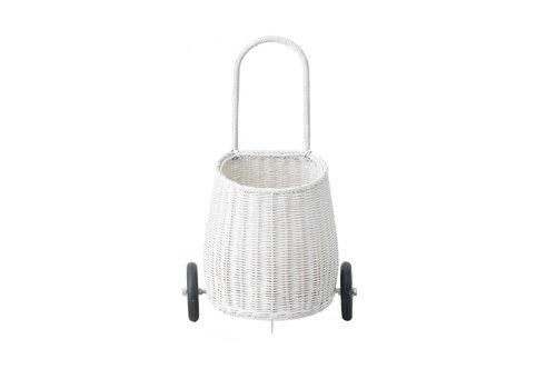 Olli Ella Olli Ella Luggy Basket White
