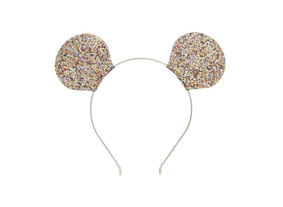 Mimi & Lula Mega Sparkle Mouse Ears - gold