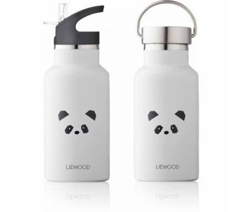 Liewood Anker Water Bottle Panda - light grey