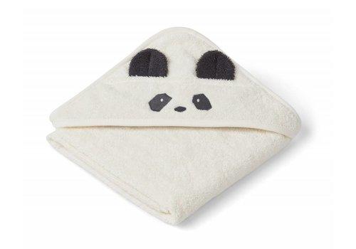 Liewood Liewood Augusta Hooded Towel Panda - creme de la creme