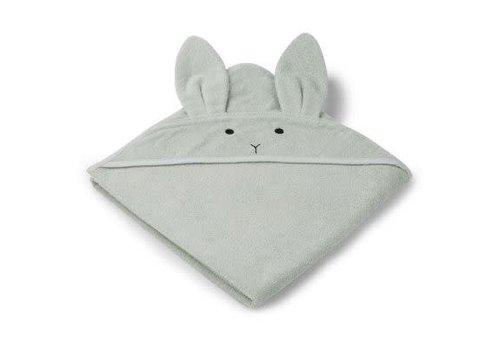 Liewood Liewood Augusta Hooded Towel Rabbit - dusty mint