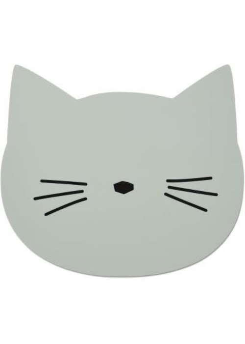 Liewood Liewood Aura placemat Cat - dusty mint