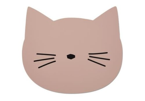 Liewood Liewood Aura placemat Cat - rose