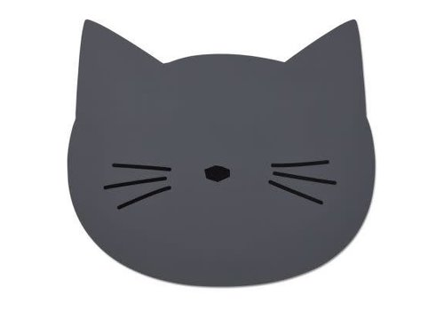 Liewood Liewood Aura placemat Cat - stone grey