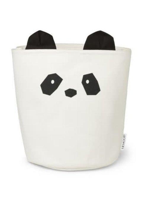 Liewood Liewood Aya Fabric Basket  Panda - creme de la creme