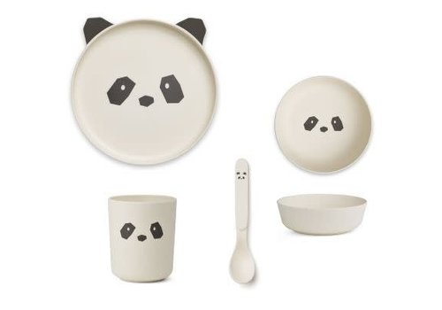 Liewood Liewood Bamboo Box Set Panda - creme de la creme