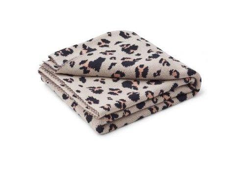 Liewood Liewood Kamma Jacquard Blanket - leo beige beauty