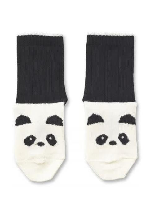 Liewood Liewood Silas Cotton Socks Panda - creme de la creme