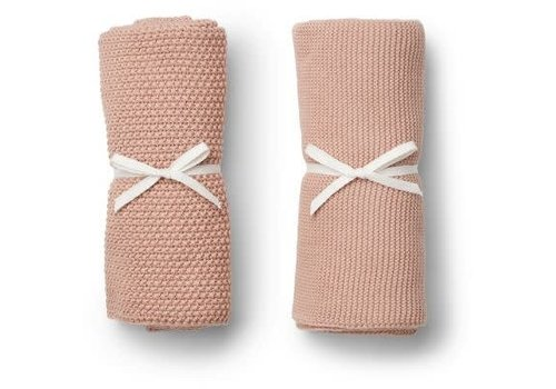 Liewood Liewood Tenna Knitted Towel 2 pack - rose