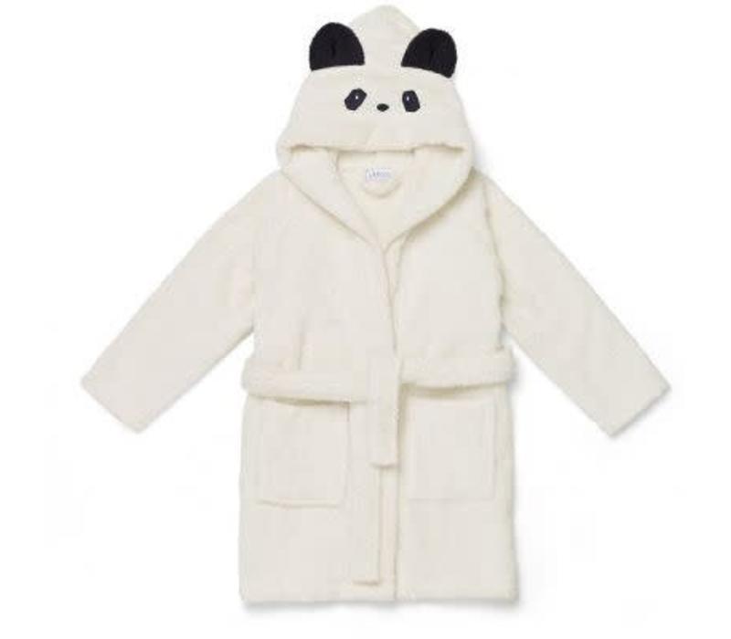 Liewood Lily Bathrobe Panda - creme de la creme