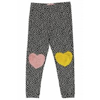 Wauw Capow by BangBang Sweet Knees Pant - black with white dots
