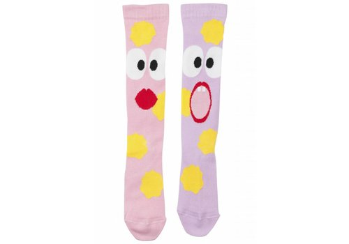 Wauw Capow by BangBang CPH Wauw Capow by BangBang Spooked Socks - pink