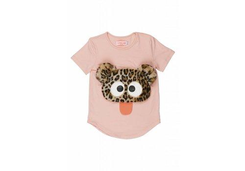 Wauw Capow by BangBang CPH Wauw Capow by BangBang Cute Rebel T-shirt - light pink