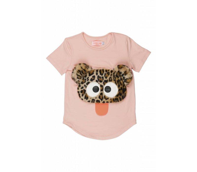 Wauw Capow by BangBang Cute Rebel T-shirt - light pink