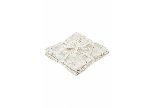 Soft Gallery Soft Gallery Mini Splash Muslin 3 pack - cream