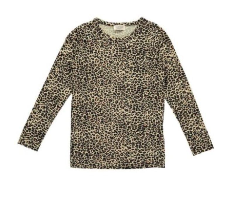 MarMar Leo Tee- brown leopard