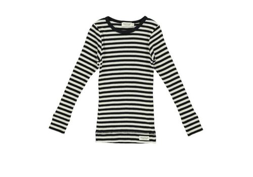 MarMar MarMar Plain Tee LS - modal stripes