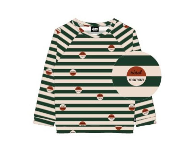 Stripes & Stories Hotel Maman Sweater