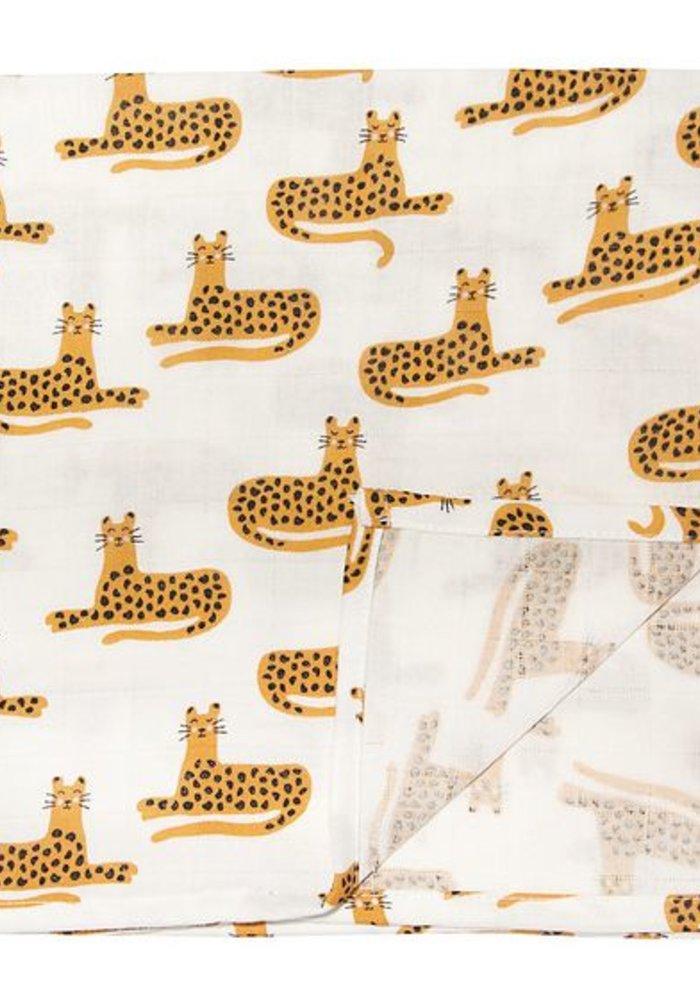 Trixie Muslin Cloths 110x110 2-pack Cheetah
