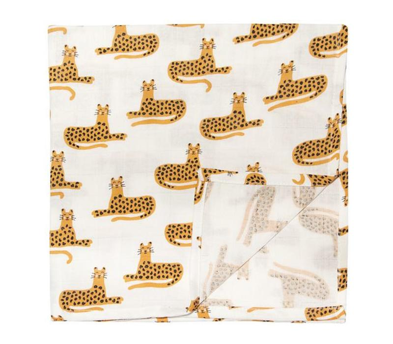 Trixie Muslin Cloths 110x110 2-pack Cheetah
