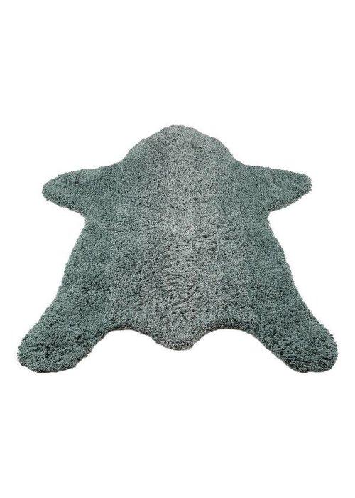 Kidsdepot Kidsdepot Bear Vloerkleed - seagreen