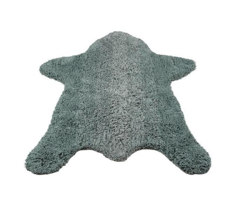 Kidsdepot Bear Vloerkleed - seagreen