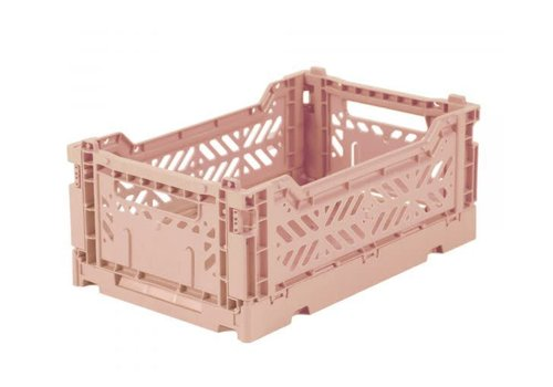 Eef Lillemor Lillemor Folding Crate Mini - milk tea