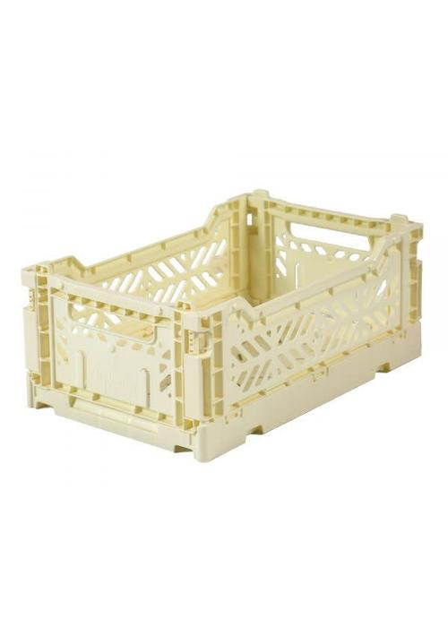 Eef Lillemor Lillemor Folding Crate Mini - banana