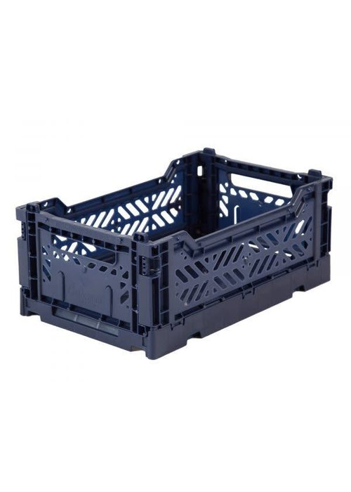 Eef Lillemor Lillemor Folding Crate Mini - navy