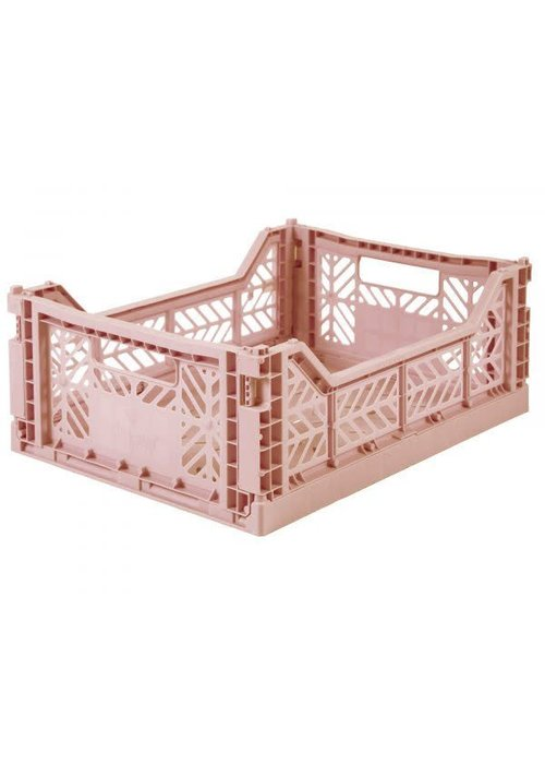 Eef Lillemor Lillemor Folding Crate Midi - milk tea