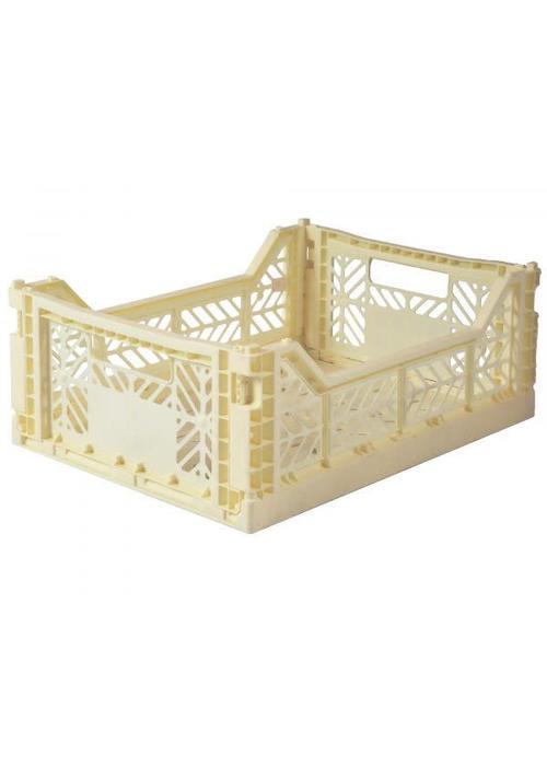Eef Lillemor Lillemor Folding Crate Midi - banana