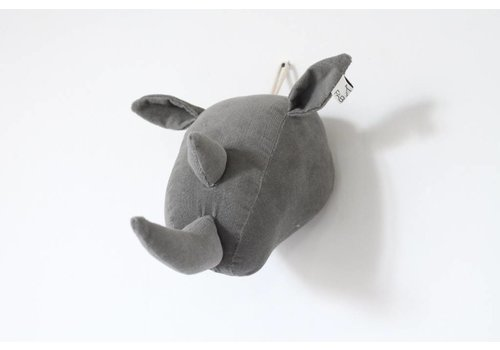 Fabels out of Vintage Fabels out of Vintage Rhino - grey rib