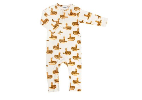 Trixie/La Rève d'ANAIS Trixie Onesie Long Sleeves Cheetah