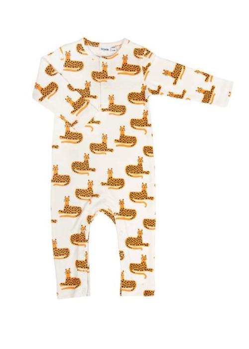 Trixie/La Rève d'ANAIS Trixie Onesie Long Sleeves Cheetah