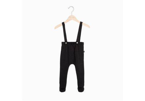 House of Jamie House of Jamie Baby Suspender Pants - black