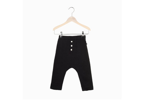 House of Jamie House of Jamie Button Baggy Pants - black