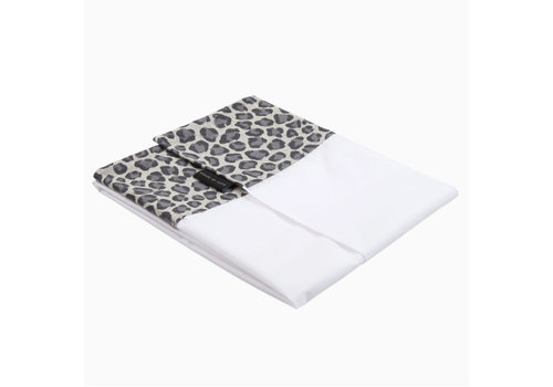 House of Jamie House of Jamie Crib Sheet Geometry Jacquard - rocky leopard