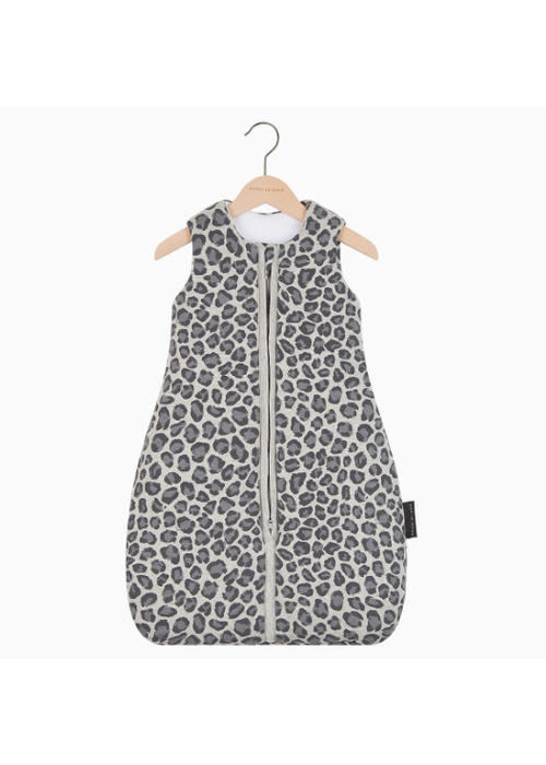 House of Jamie House of Jamie Sleeping Bag Baby Geometry Jacquard - rocky leopard