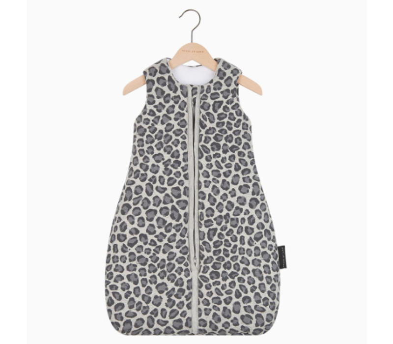 House of Jamie Sleeping Bag Baby Geometry Jacquard - rocky leopard