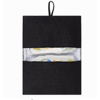 House of Jamie Nappy Pouch Geometry Jacquard - black