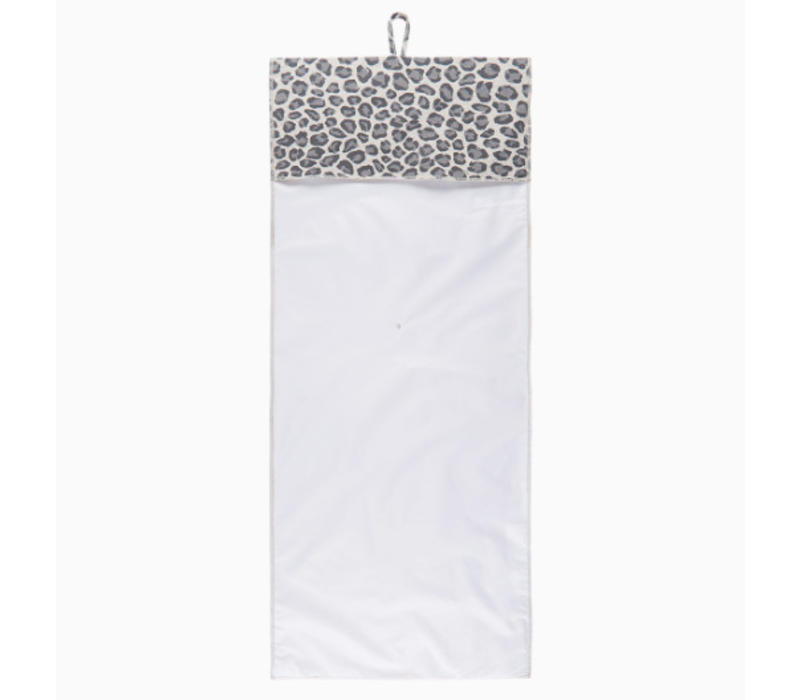 House of Jamie Travel Changing Mat Geometry Jacquard- rocky leopard