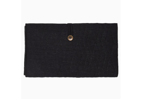 House of Jamie House of Jamie Travel Changing Mat Geometry Jacquard- black
