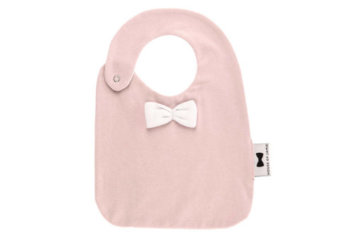 House of Jamie House of Jamie Bow Tie Bib - rose