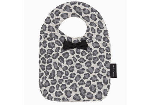 House of Jamie House of Jamie Bow Tie Bib - rocky leopard