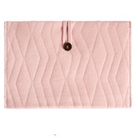 House of Jamie Travel Changing Mat Geometry Jacquard - dusty pink