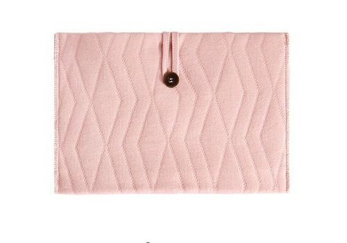 House of Jamie House of Jamie Travel Changing Mat Geometry Jacquard - dusty pink