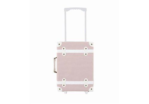 Olli Ella Olli Ella See-Ya Suitcase Rose