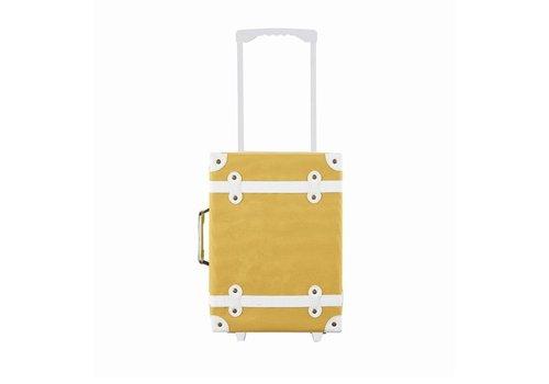 Olli Ella Olli Ella See-Ya Suitcase Mustard