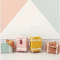 Olli Ella See-Ya Suitcase Mustard