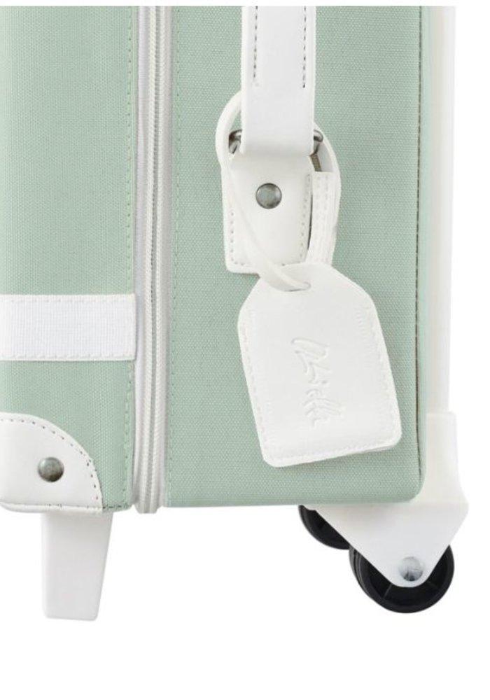 Olli Ella See-Ya Suitcase Mint